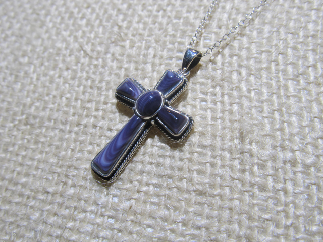 Large Cross set in Sterling Silver